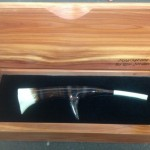 0547 spur call in cedar display box $190